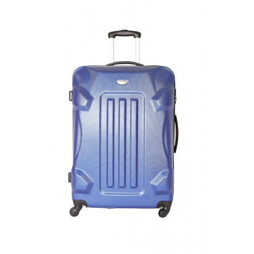 "Valise Grande Taille 75cm 4 roues - Trolley ADC ""Robot"" ABS Rigide."