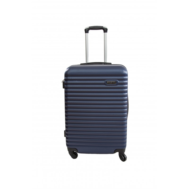 """Valise taille Moyenne 4 roues 65cm - Trolley ADC """"Classiq"""" ABS Rigide."""