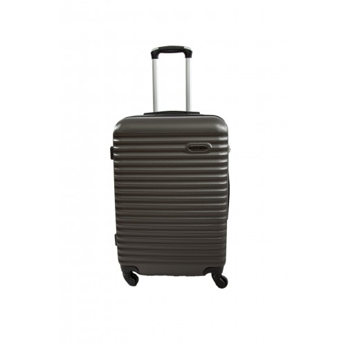 "Valise taille Moyenne 4 roues 65cm - Trolley ADC ""Classiq"" ABS Rigide."