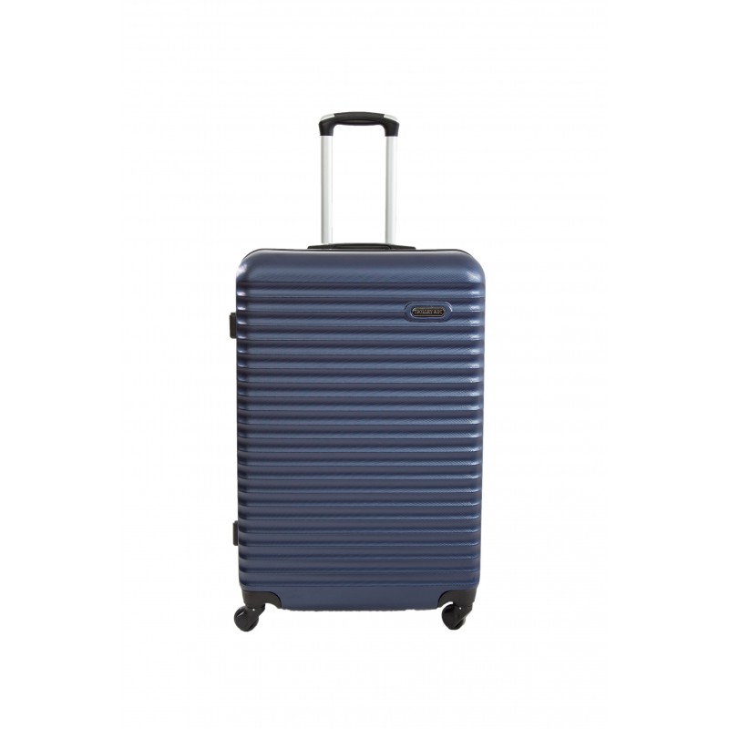 "Valise Grande taille 75cm 4 roues - Trolley ADC ""Classiq"" Rigide ABS."