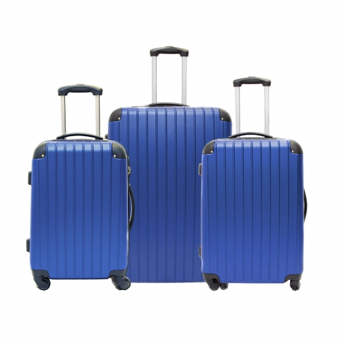 "Ensemble de 3 Valises Rigide 4 roues - Trolley ADC ""Ray"""