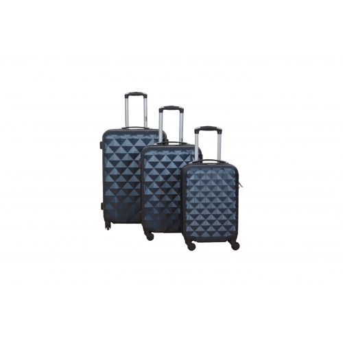 "Set 3 valises 4 roues ABS ""Kobe"" - Trolley ADC"