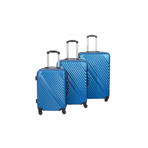 "Set de 3 Valises rigide 4 roues ""Overline"" - Trolley ADC"