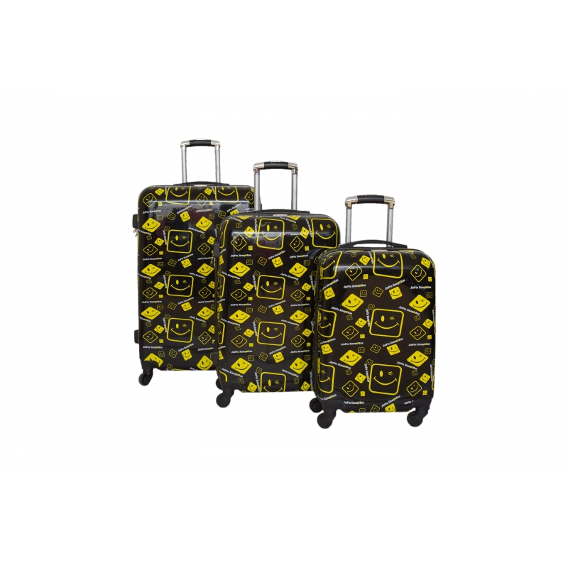 Set de 3 valises Rigide 4 roues - SuperFly