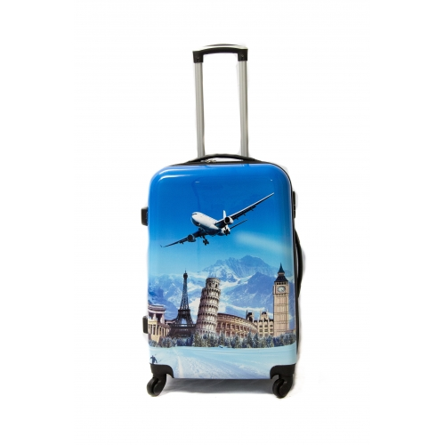 Valise Grande Taille Polycarbonate 75cm 4 roues