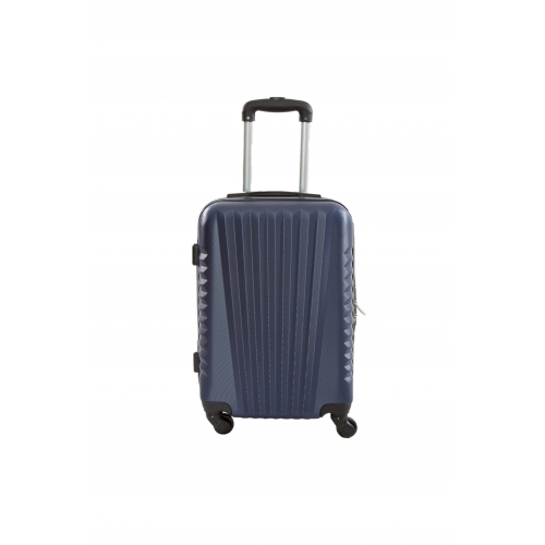"Valise cabine 4 roues 55cm - Trolley ADC ""Elegance"" ABS Rigide."
