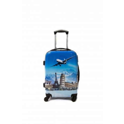 Valise Cabine 4 roues 55cm - Trolley ADC