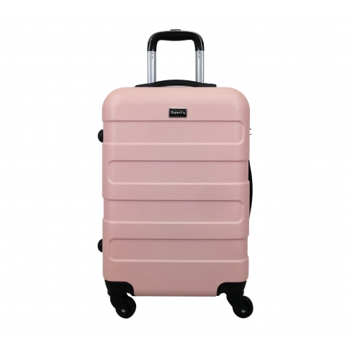 Valise Cabine 4 roues 55cm ABS - SuperFly
