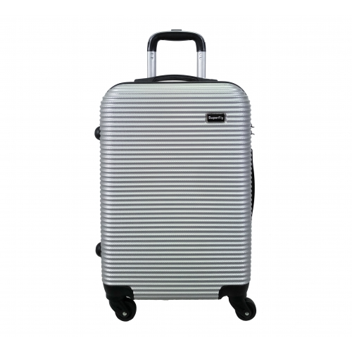 Valise Taille Moyenne 4 roues 65cm ABS - SuperFly