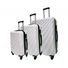 Set de 3 valises 4 roues Polycarbonate Slider